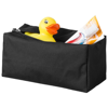Passage toiletry bag in black-solid