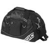 Half-dome duffel bag in black-solid