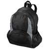 The Bamm-Bamm non woven backpack in black-solid-and-grey