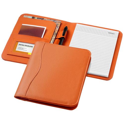 Ebony A5 portfolio in orange