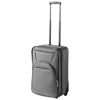 Expandable carry-on luggage in grey