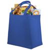 Maryville non-woven shopping tote bag in blue