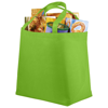 Maryville non-woven shopping tote bag in lime