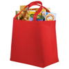 Maryville non-woven shopping tote bag in red