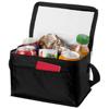 Kumla slash pocket lunch cooler bag in black-solid