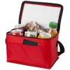 Kumla slash pocket lunch cooler bag in red