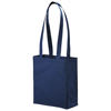 Mini Elm non-woven tote bag in navy