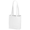 Mini Elm non-woven tote bag in white-solid