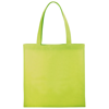 Zeus small non-woven convention tote bag in lime