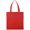 Zeus small non-woven convention tote bag in red