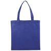 Zeus small non-woven convention tote bag in royal-blue
