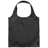 Bungalow foldable tote bag in black-solid