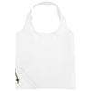 Bungalow foldable tote bag in white-solid