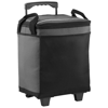 Roller 32-can cooler bag with wheels in grey-and-black-solid