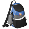12-Can Cooler Sling in black-solid-and-royal-blue