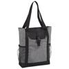 Buckle 11'' tablet tote bag in grey