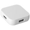 Connex 4-port USB hub in white-solid