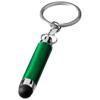 Aria alu stylus key chain in green
