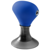 Spartacus 2-in-1 audio splitter and device stand in process-blue