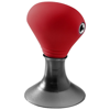 Spartacus 2-in-1 audio splitter and device stand in red