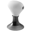 Spartacus 2-in-1 audio splitter and device stand in white-solid