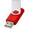 Rotate-basic 2GB USB flash drive in bright-red
