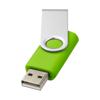 Rotate-basic 2GB USB flash drive in lime