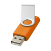 Rotate-basic 2GB USB flash drive in orange