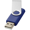 Rotate-basic 4GB USB flash drive in blue-and-silver
