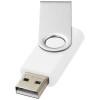 Rotate-basic 8GB USB flash drive in white