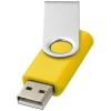 Rotate-basic 8GB USB flash drive in yellow