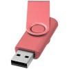 Rotate-metallic 4GB USB flash drive in pink