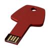 Key 2GB USB flash drive in red