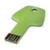 Key 4GB USB flash drive in green