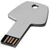 Key 4GB USB flash drive in silver