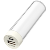 Dash power bank 2200mAh in white-solid