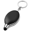 Presto keychain light and stylus in black-solid