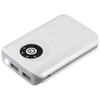 Vault 6600 mAh power bank in white-solid