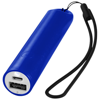 Beam power bank with lanyard and light 2200mAh in royal-blue