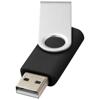 Rotate-basic 32GB USB flash drive in black-solid