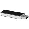 Glide 4GB USB flash drive in black-solid