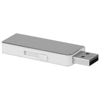 Glide 8GB USB flash drive in silver