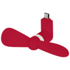 Airing micro USB fan in red