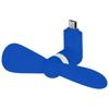 Airing micro USB fan in royal-blue