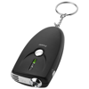Inebreeze alcohol breath analyser keychain in black-solid