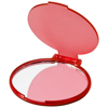 Carmen glamour mirror in transparent-red