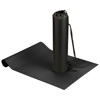 Cobra fitness and yoga mat in black-solid
