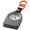Alverstone multi-function compass in grey-and-black-solid-and-orange