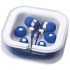 Sargas earbuds with microphone in royal-blue
