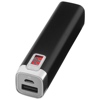 Jolt charger with digital power display 2200 mAh in black-solid